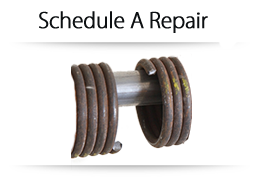 Schedule a garage door repair
