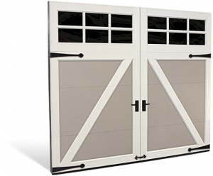 Cocoa Steel Carriage Style Doors Overhead Door Of